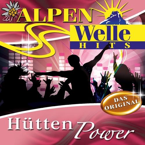 Hütten Power - ALPEN-WELLE HITS cover art