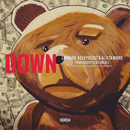 Down - LIONAIRE [feat. Kelvyn Colt & Alista Marq] cover art