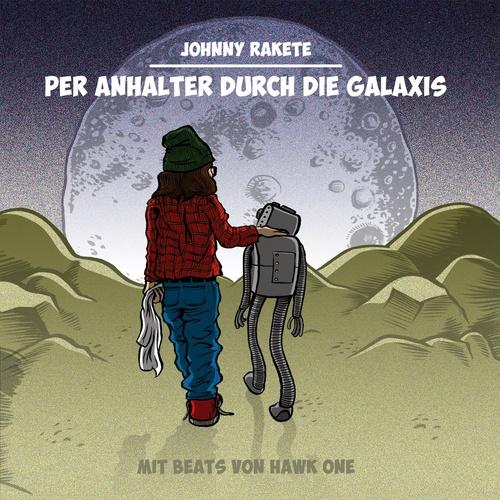 Per Anhalter durch die Galaxis - Johnny Rakete cover art