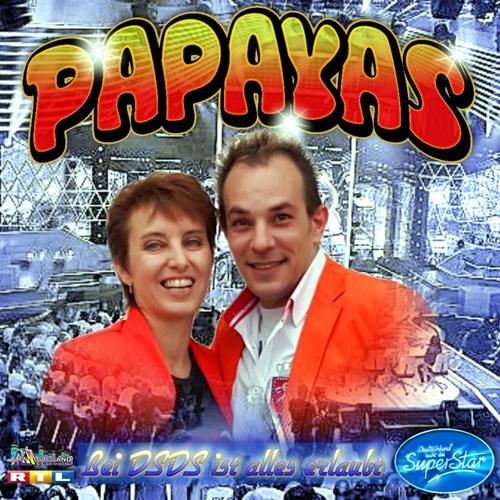 Bei D S D S ist alles erlaubt (Popschlager) - DIE PAPAYAS cover art